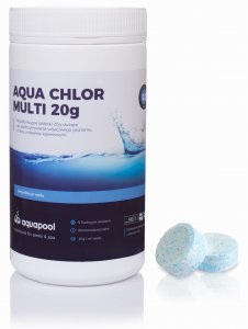 Chlor multi do basenu tabletki 20g 1 kg