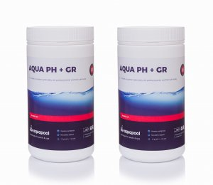 pH plus + granulat do basenu 2 x 1 kg