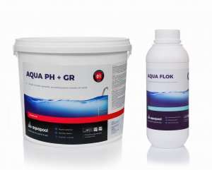 pH plus do basenu 3 kg + 1 l  flock gratis